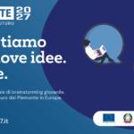 Piemonte 2027 - la maratona digitale di brainstorming collettivo