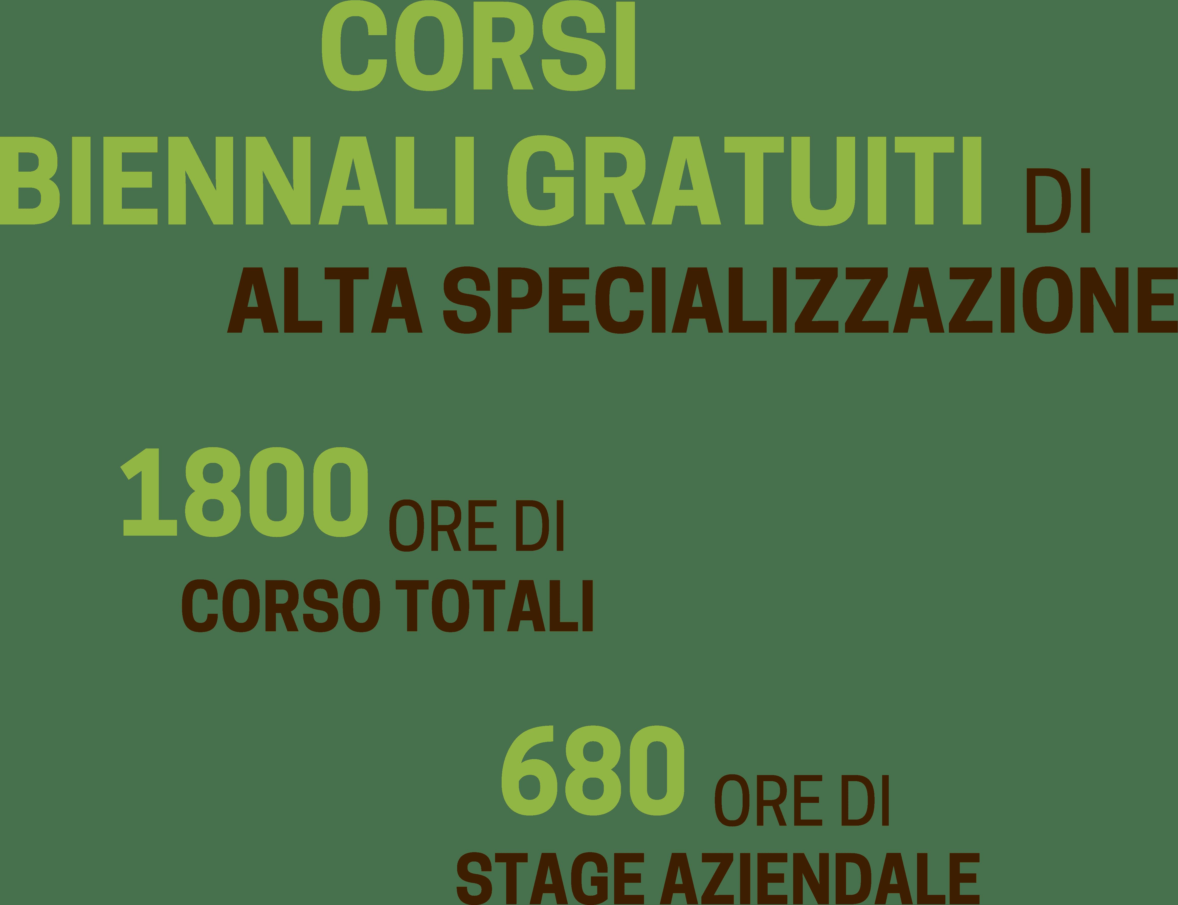 Corsi biennali di alta specializzazione post diploma - ITS Agroalimentare per il Piemonte